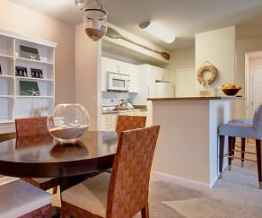 Dining Room off the Kitchen For a Perfect Entertaining Layout, Rivers Edge