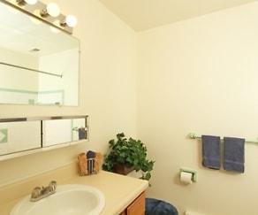 Bathroom, Greystone Lofts at Reynolds Road