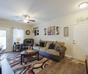 Living Room, Griner Gardens Apartments