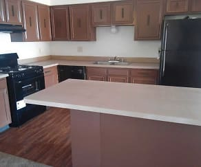 Kitchen, Sunset Peak Apartments