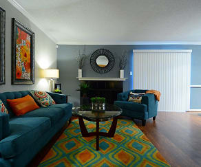 Living Room, The Abbey at Copper Creek