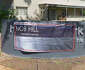 Community Signage, Nob Hill Apartments