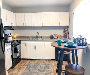Kitchen, Aspenwood