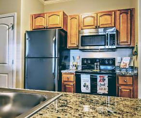 Kitchen, The Charleston Apartments