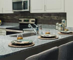 Kitchen, 2700 Charlotte Ave Apartments