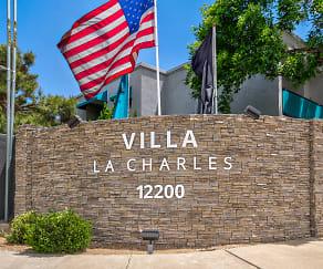 Villa La Charles, Eldorado High School, Albuquerque, NM