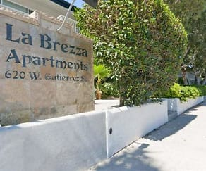 Community Signage, La Brezza Apartments