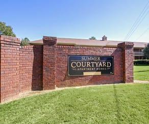 Community Signage, Summer Courtyard Apartments