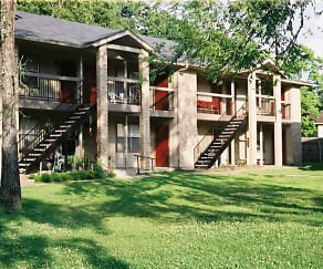 Building, Royal Oaks Apartments (TX)