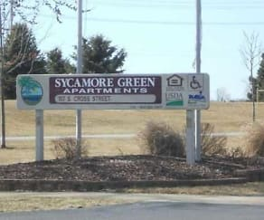 Community Signage, Sycamore Green Apartments