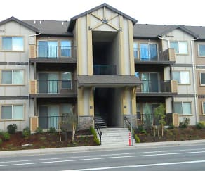 Building, Sierra Point Apartments