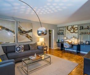 Living Room, Bridgeyard Apartments