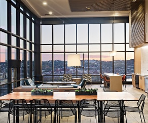Dining Room, SkyVue Apartments
