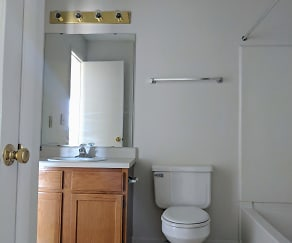 Bathroom, Union Hill Apartments