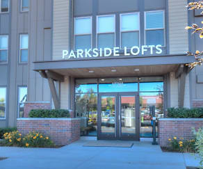 Entrance, Parkside Lofts