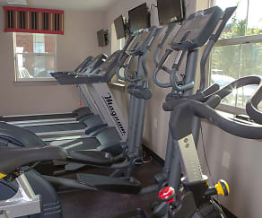 Fitness Weight Room, University Place Apartments - PER BED LEASE