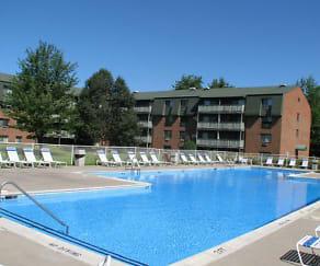Pool, Pebblebrook Apartments