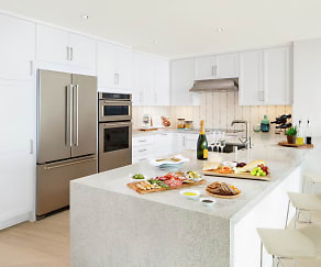 Kitchen, 1221 Ocean Avenue