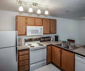 Kitchen, Farr Court Apartments