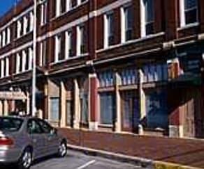 Building, Montgomery Block Apartments