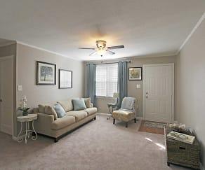 Living Room, Cottages On Elm