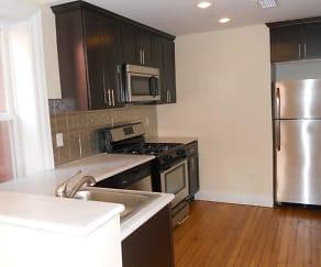 Kitchen, Wayne & Waldorf Apartments