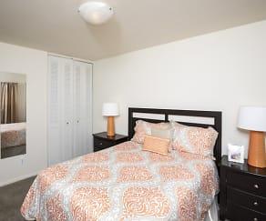 Bedroom, Newport Terrace Apartments