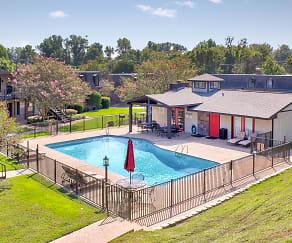 Pool, Bienville Apartments