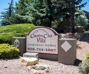 Community Signage, Country Club Vista