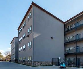 Building, 11th Street Flats