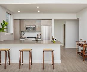 Kitchen, CityLine Apartments