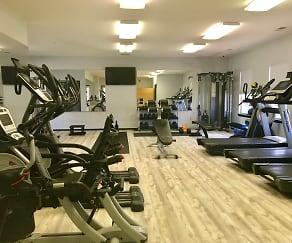 Fitness Weight Room, Heartland Village