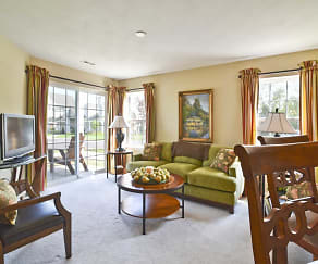 Living Room, The Fairways at Timber Banks