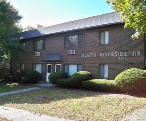 Building, North Riverside Apartments