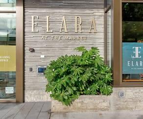 Community Signage, Elara at the Market