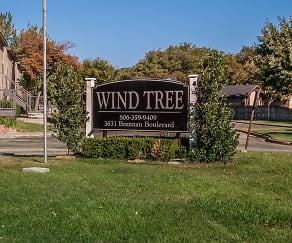 Community Signage, Wind Tree