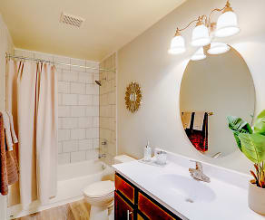 Bathroom, The Springs Townhomes