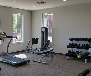 Fitness Weight Room, Overlook at Mesa Creek