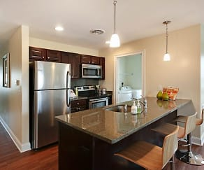 Kitchen, Springs Luxury Apartments