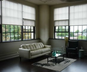 Living Room, Bethune Lofts