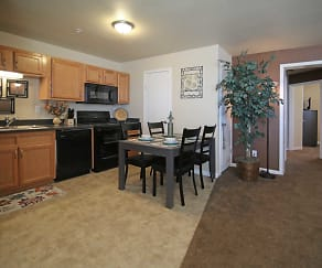 Kitchen, Fairways Apartments