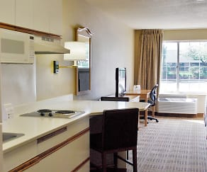 Kitchen, Furnished Studio - Boston - Marlborough