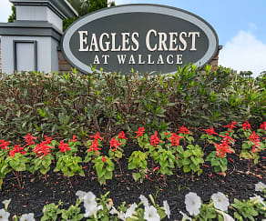 Community Signage, Eagles Crest at Wallace Apartments
