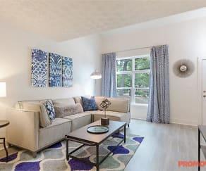 Living Room, Arlowe Townhomes