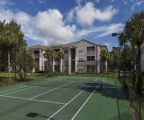 Lighted Tennis Court, The Legends at Champions Gate Apartments