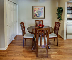 Dining Room, Quakertowne Apartments