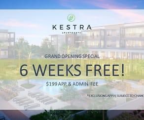 Community Signage, Kestra Apartments