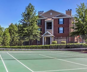 Two tennis courts, The Madison Apartments