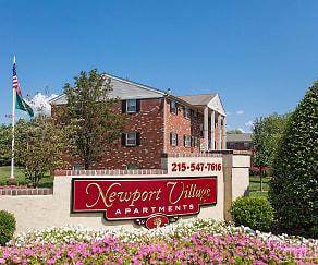 Community Signage, Newport Village Apartments