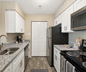 Kitchen, Hunt Club Apartments